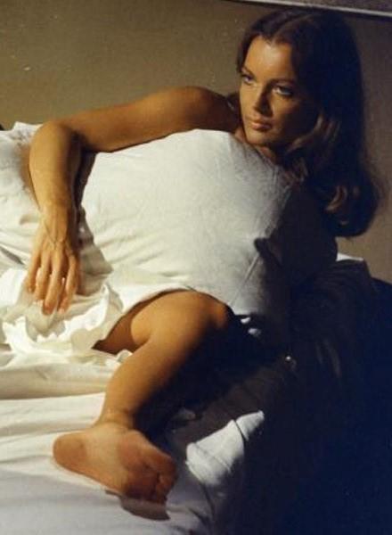 Romy Schneider's Feet