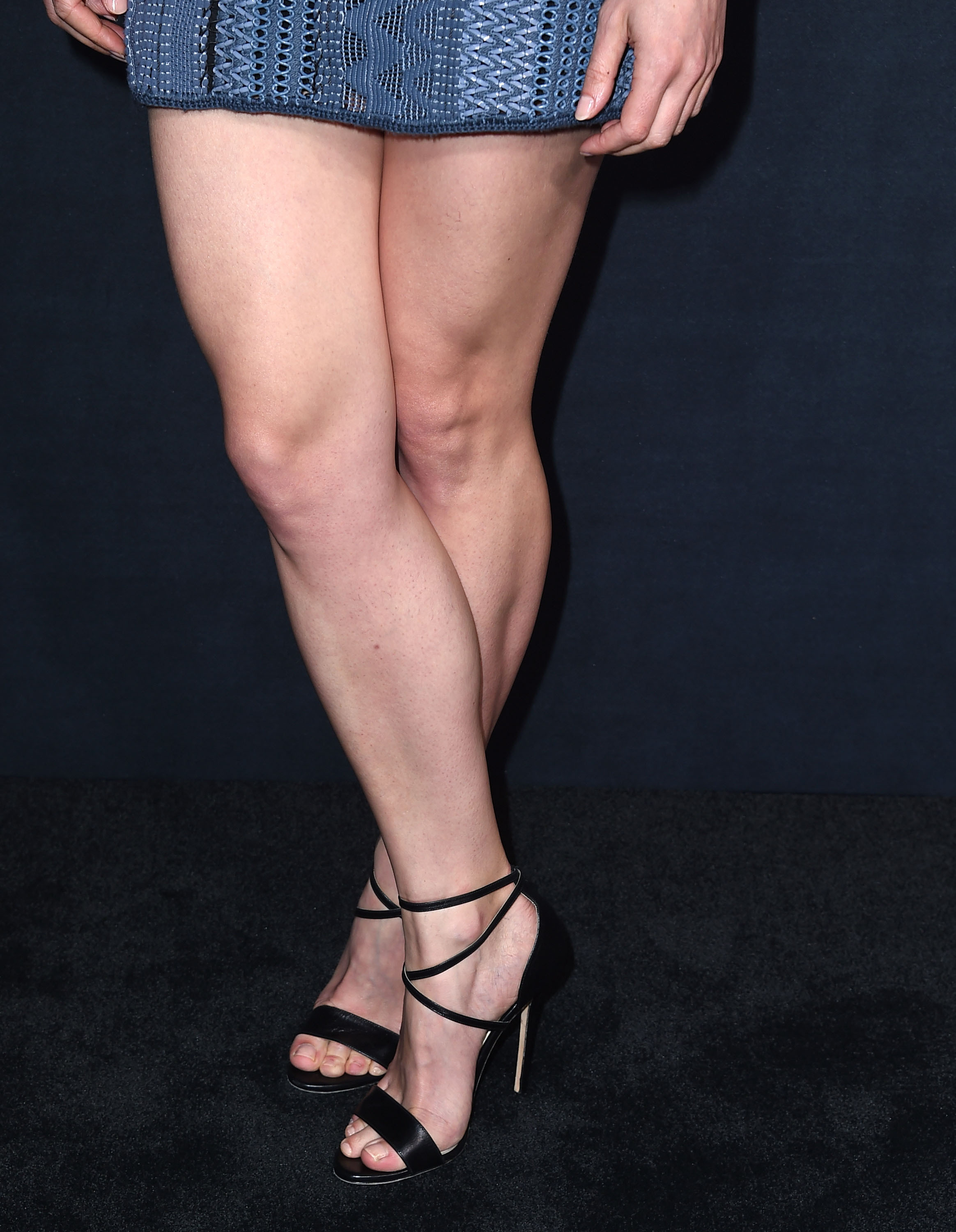 from Lewis rosamund pike nude feet