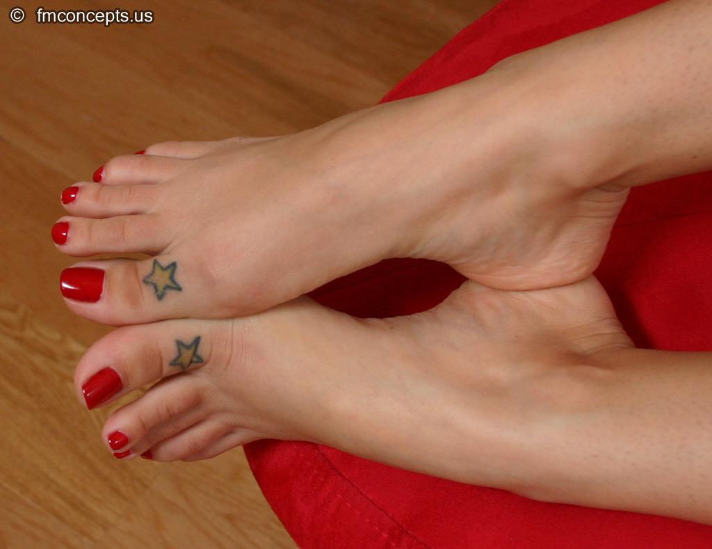 vanilla deville feet porn