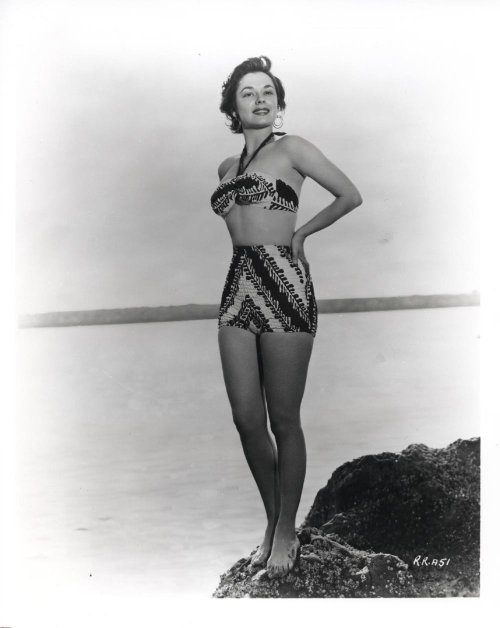 ruth roman photo polaroid