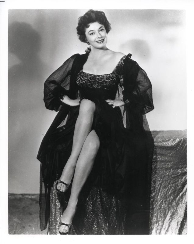 Ruth Roman Of Many Movies She Was In Strangers On A: Ruth Roman's Feet