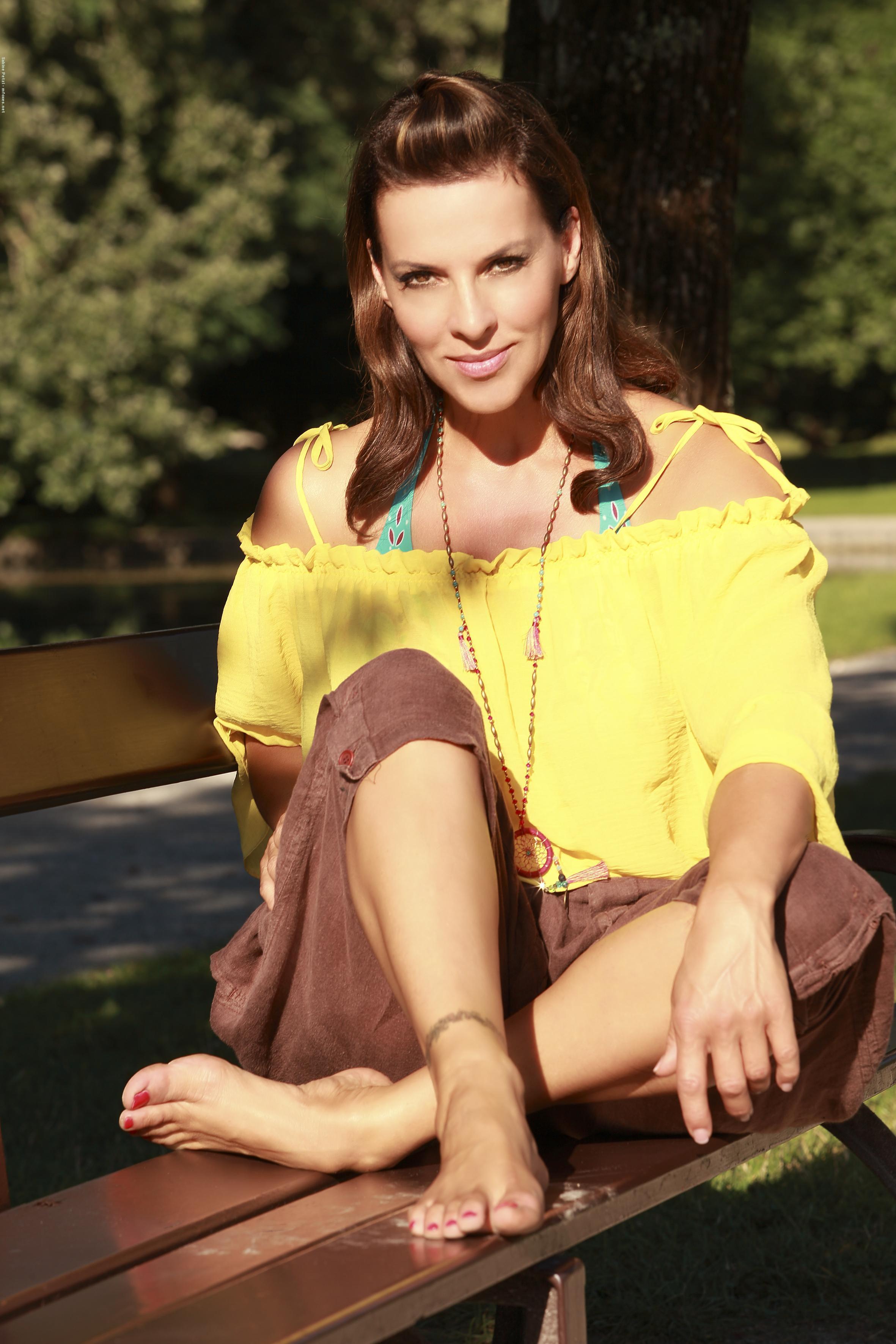 Sabine Petzls Feet