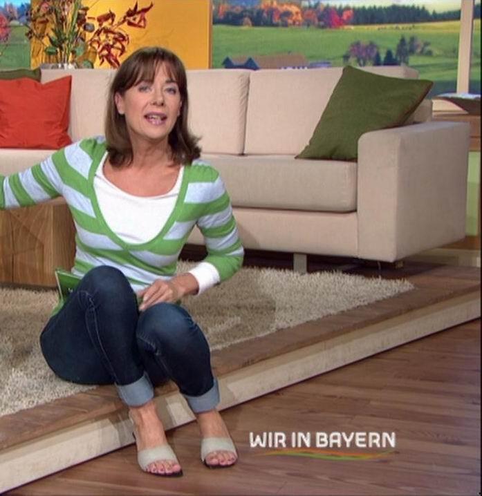 Moderatorin Sabine Sauer
