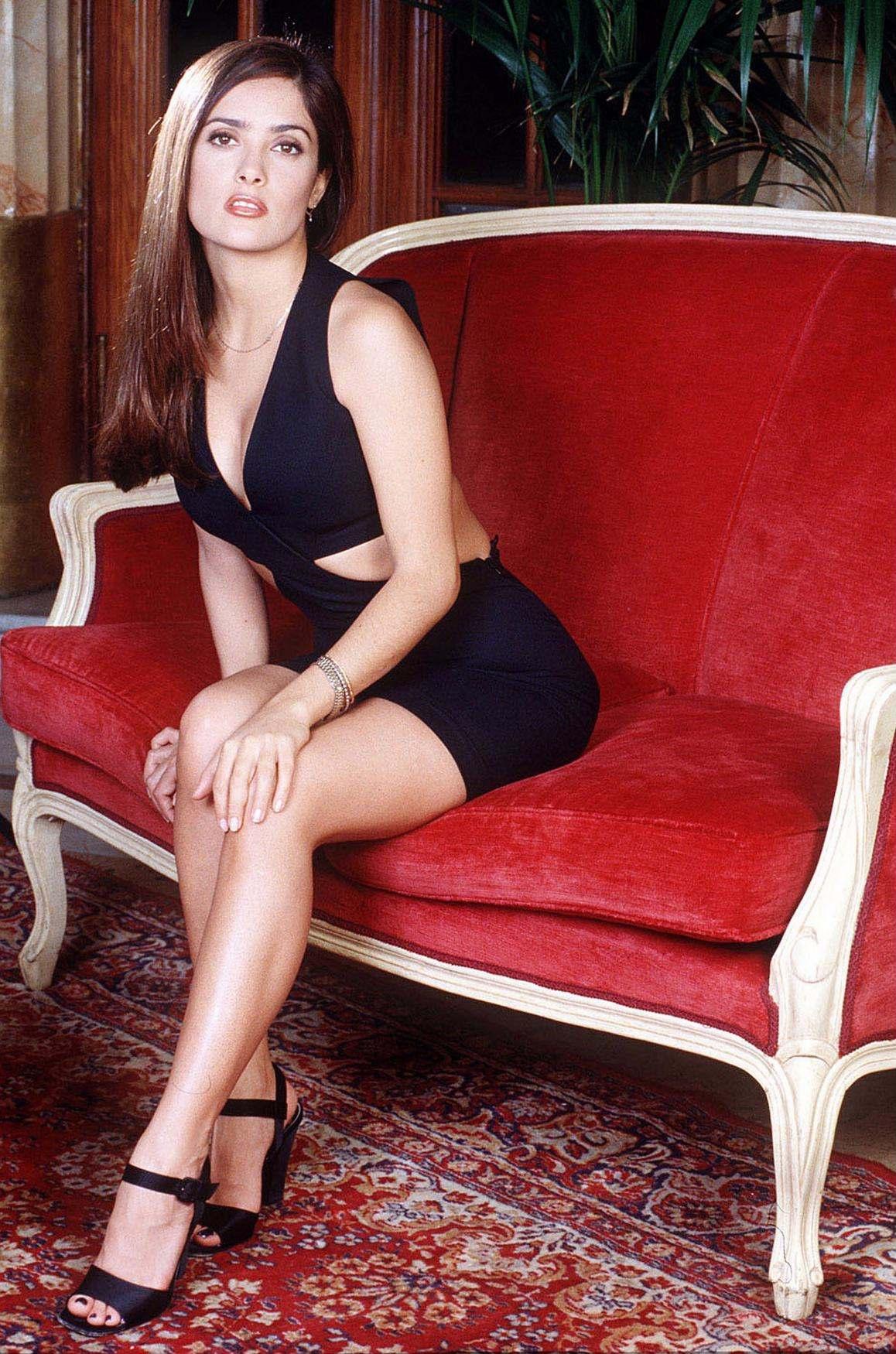 Salma Hayek Legs