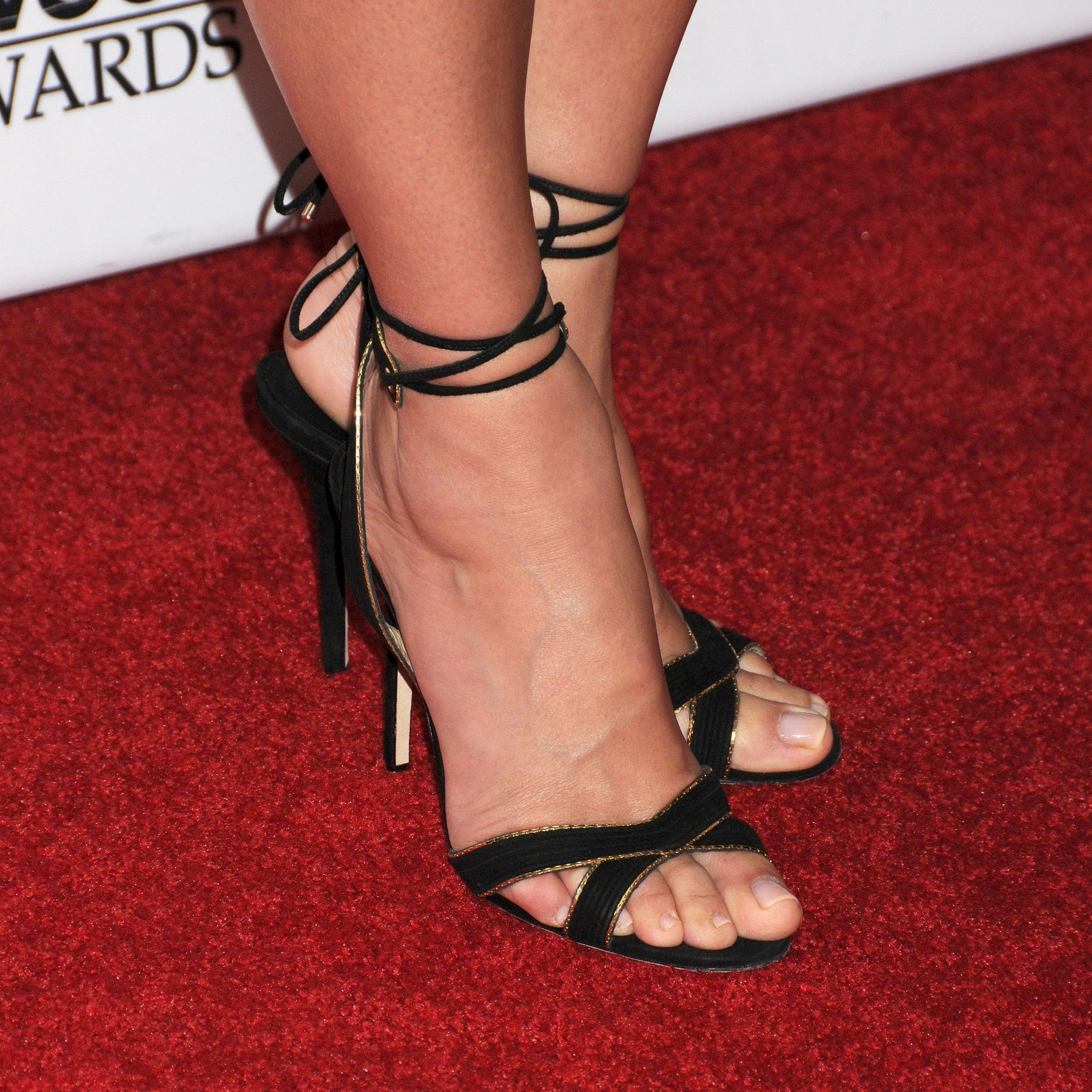 Sandra bullock feet