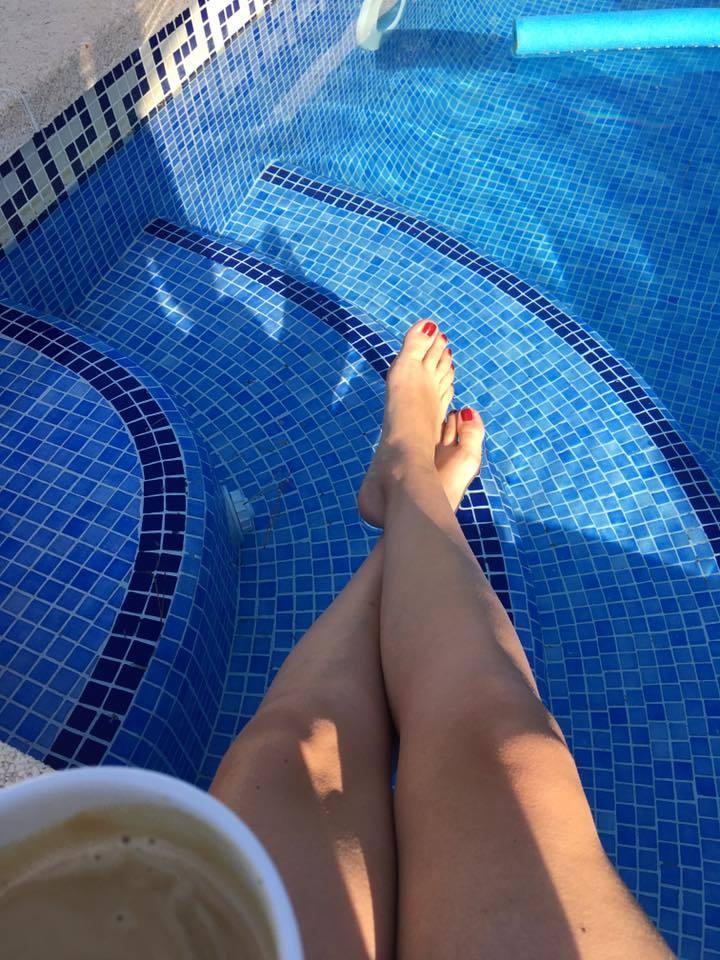 sarah bogen feet