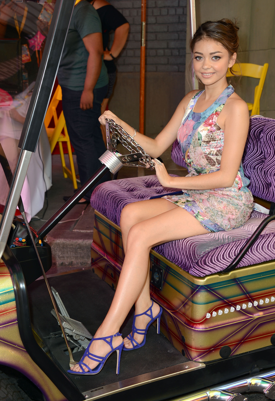 Sarah Hyland, feet, stópki, stopy