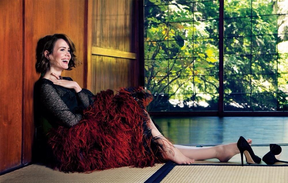 Sarah Paulson Holland Taylor >> Sarah Paulson's Feet