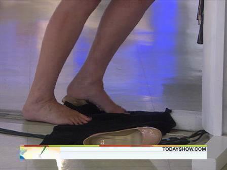 Savannah Guthrie Foot