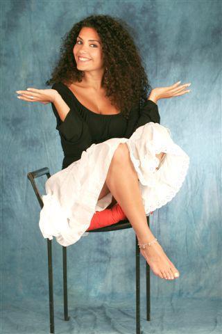 Serena Rossi S Feet