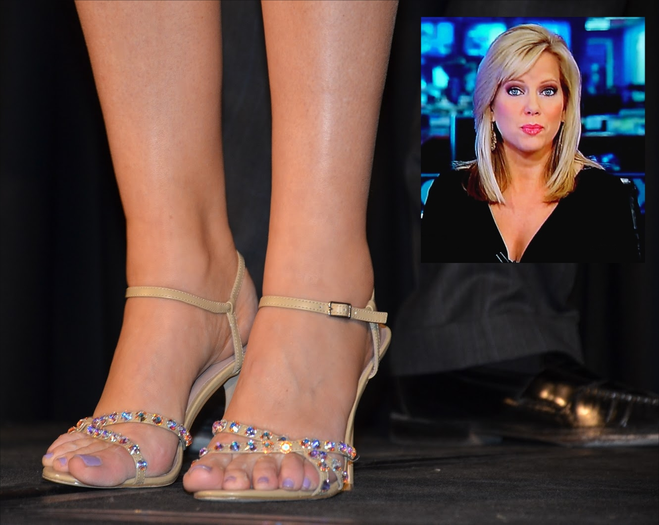 Shannon Bream Feet