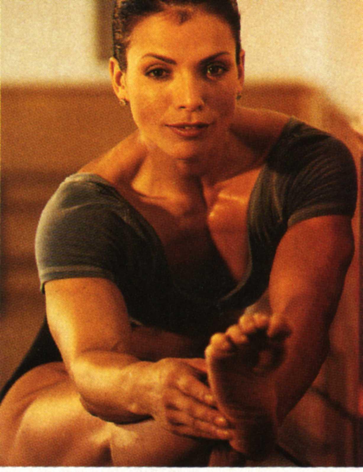Sharon Bruneau's Feet