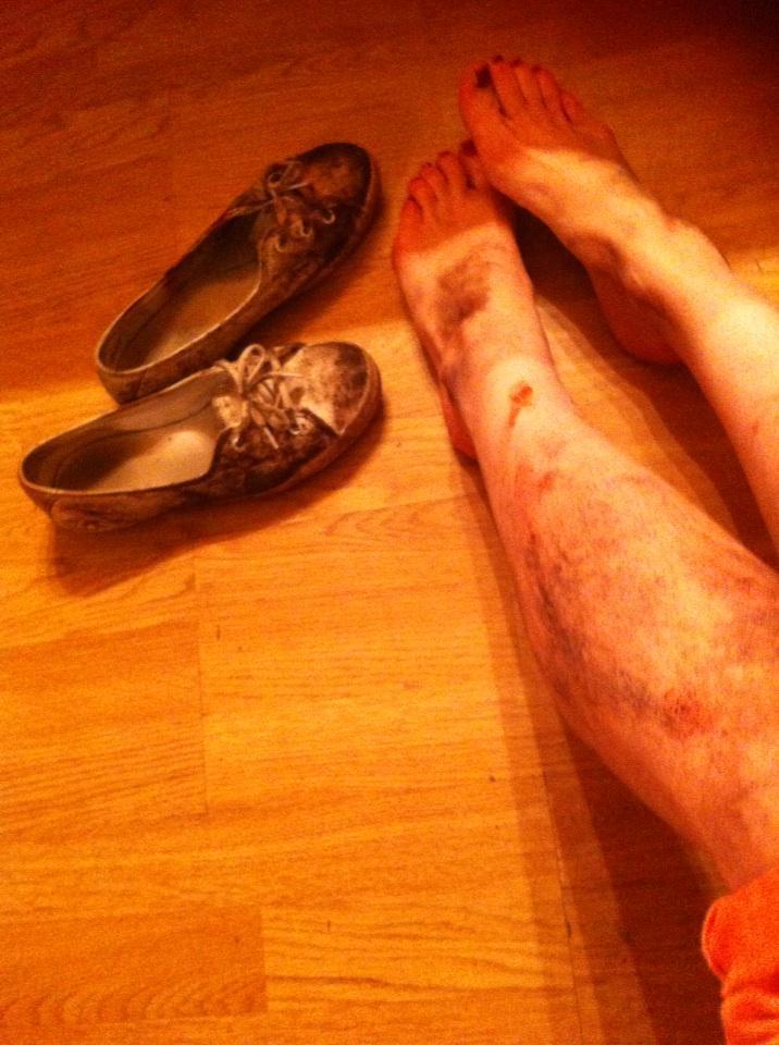 Feet Shauna Macdonald