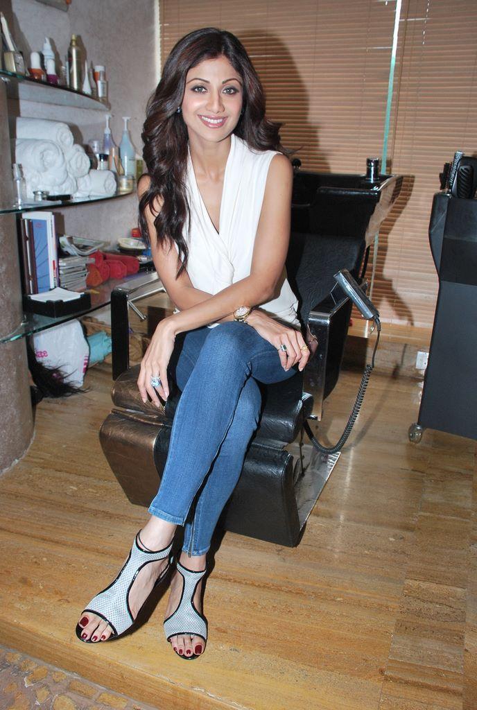 Shilpa Shettys Feet-4205
