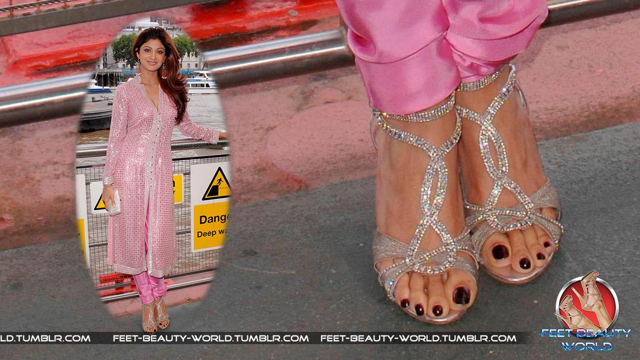 Shilpa Shettys Feet-8975
