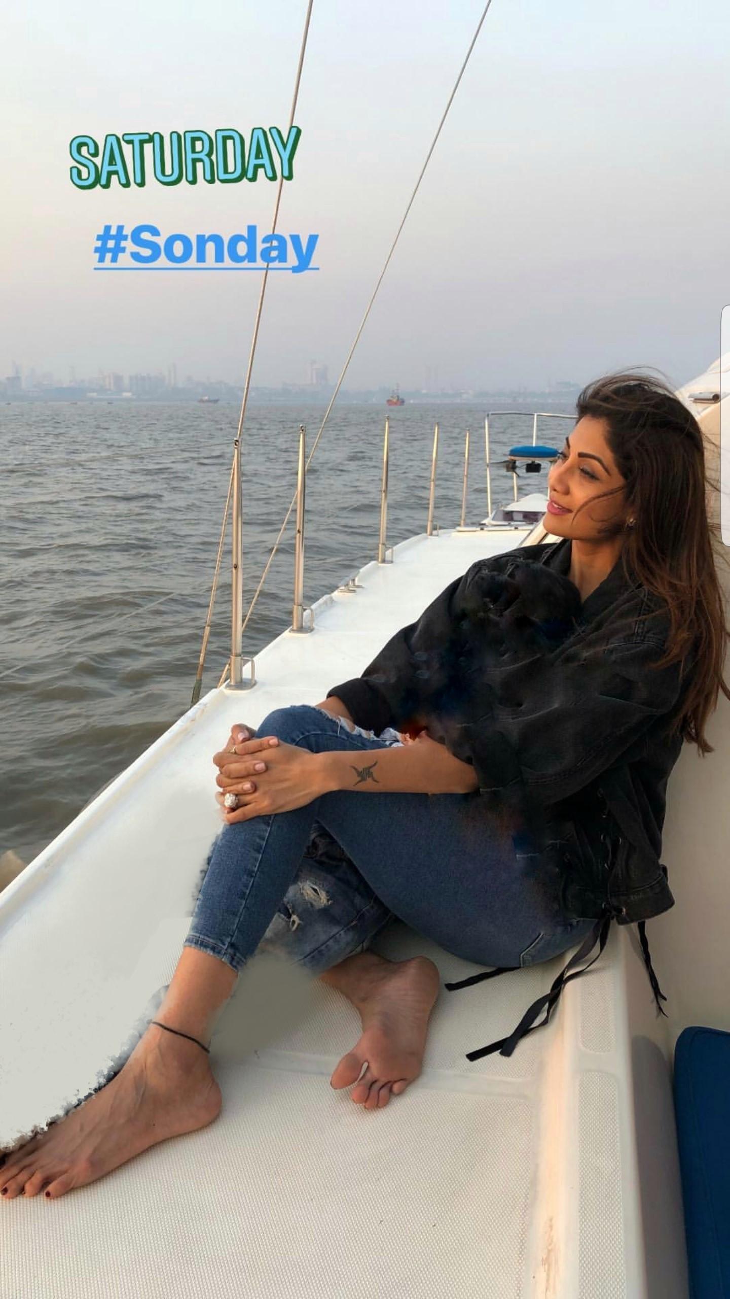 Shilpa Shettys Feet-6239