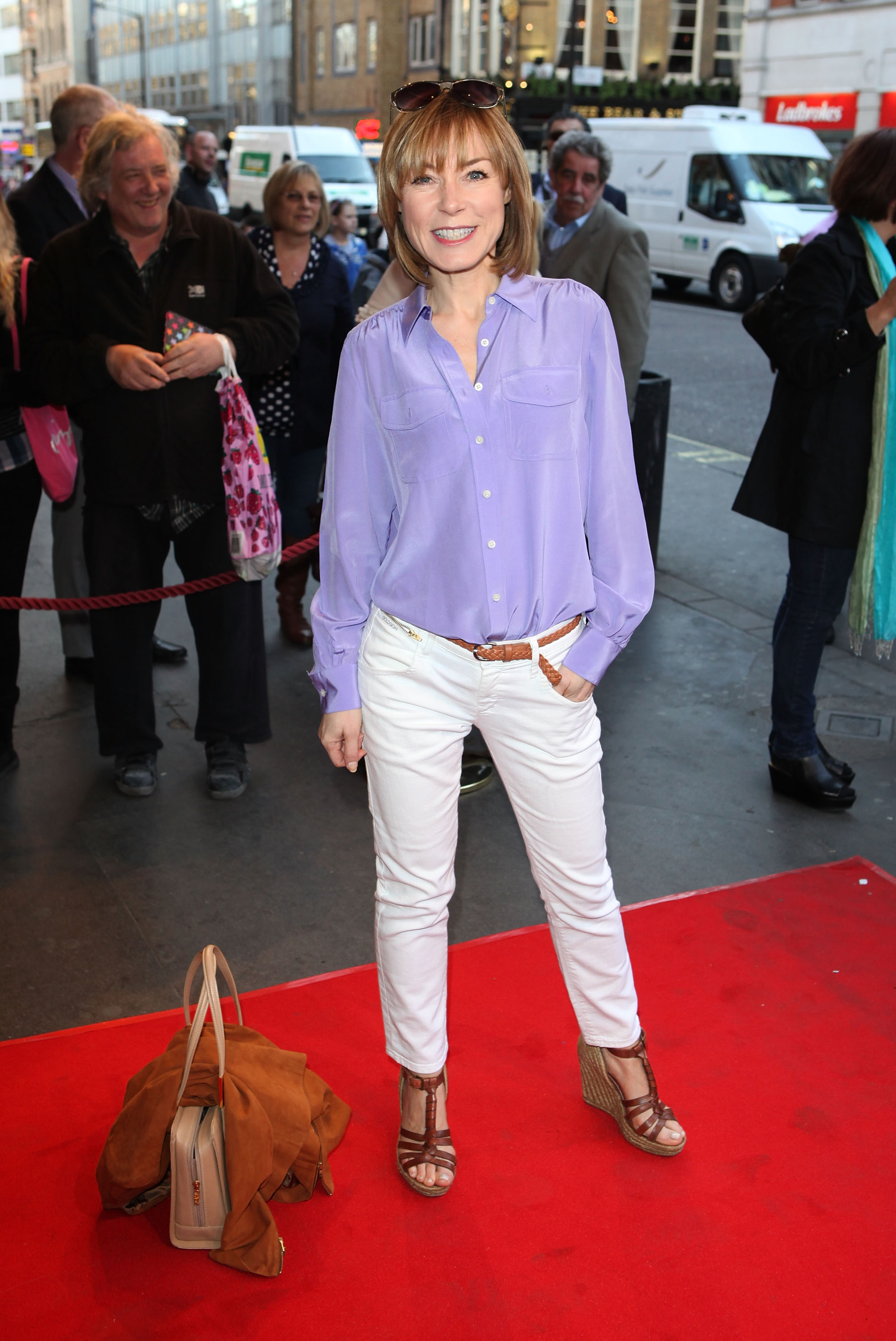 Sian Williams's Feet