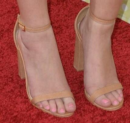 Sierra McCormick's Feet