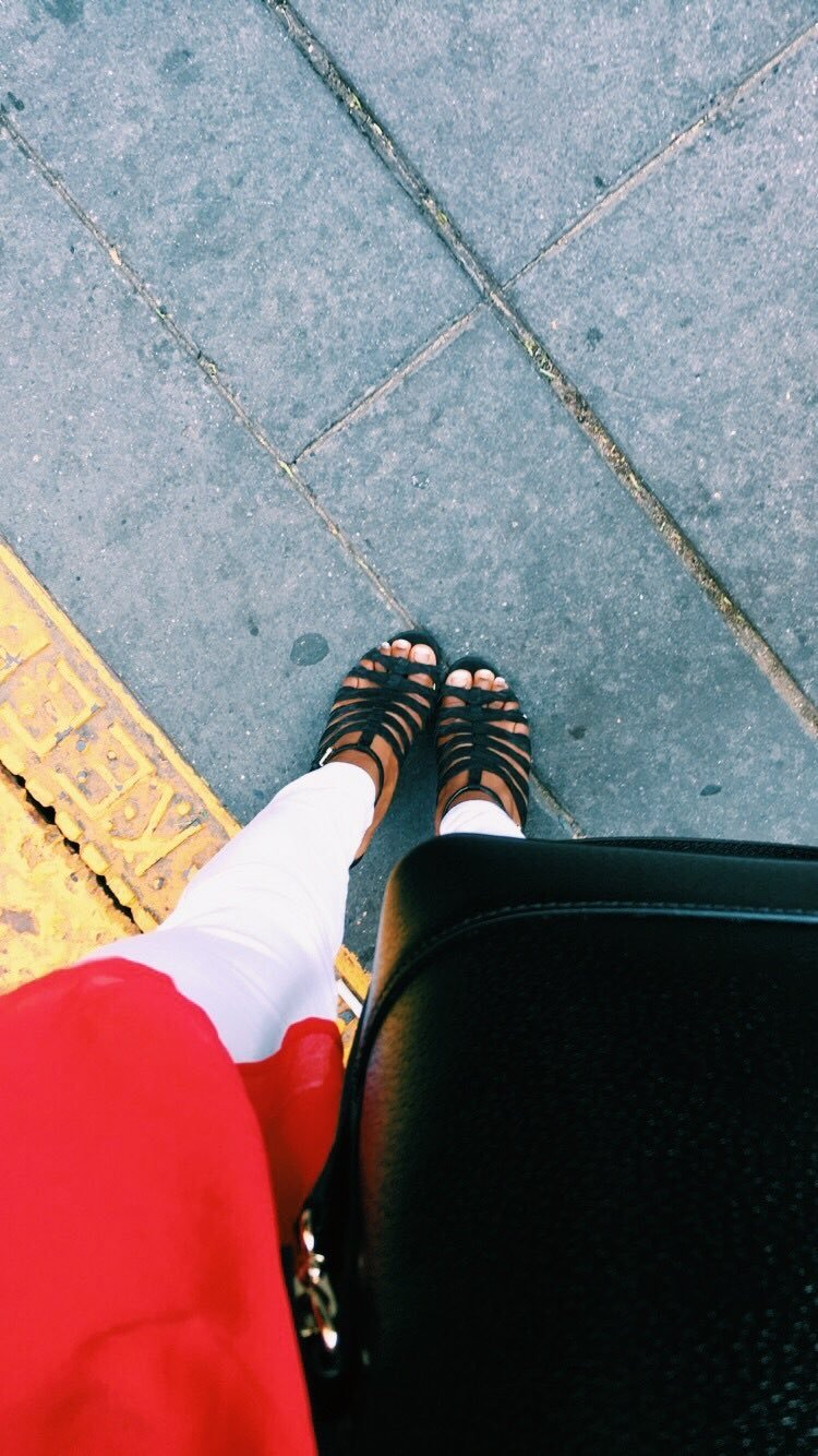 Simone Biles's Feet