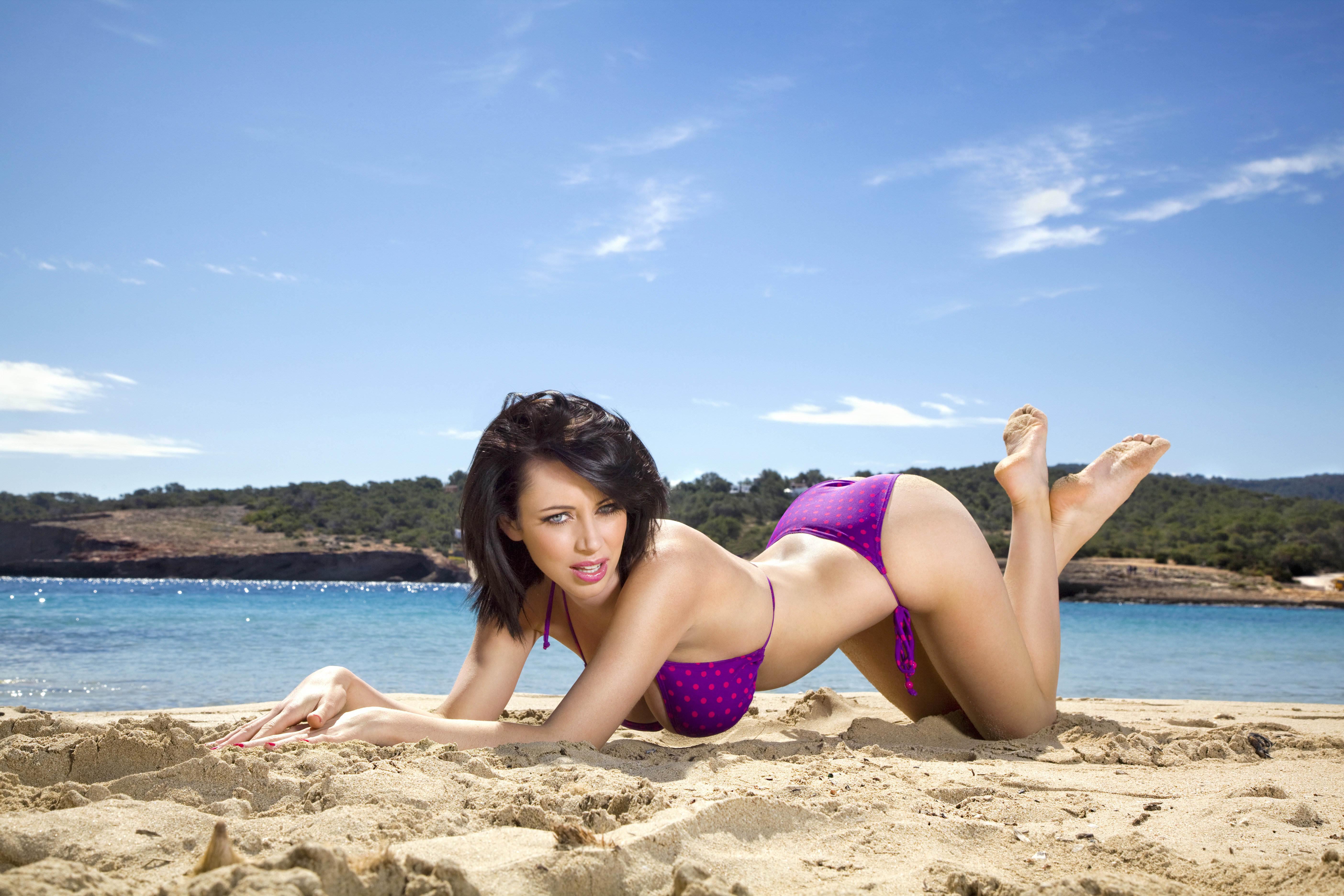 Фото модели на пляже 8 фотография