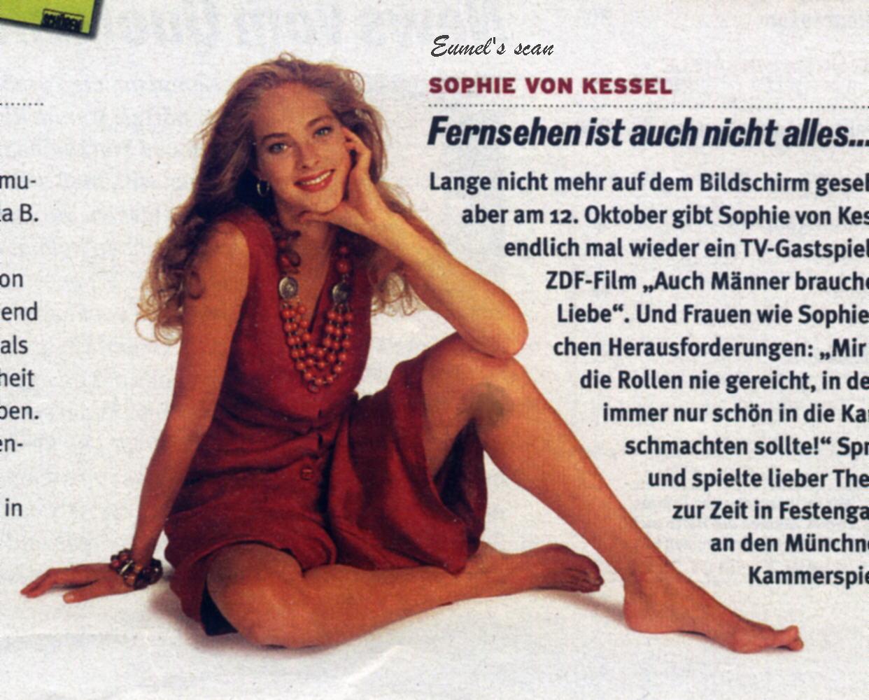 Sophie von Kessel Nude Photos