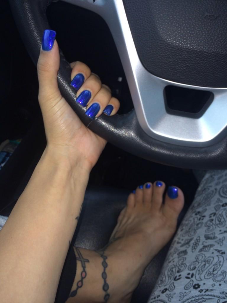 Stefania Mafra Füße Anbetung