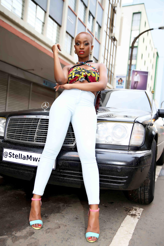 Stella Mwangis Feet