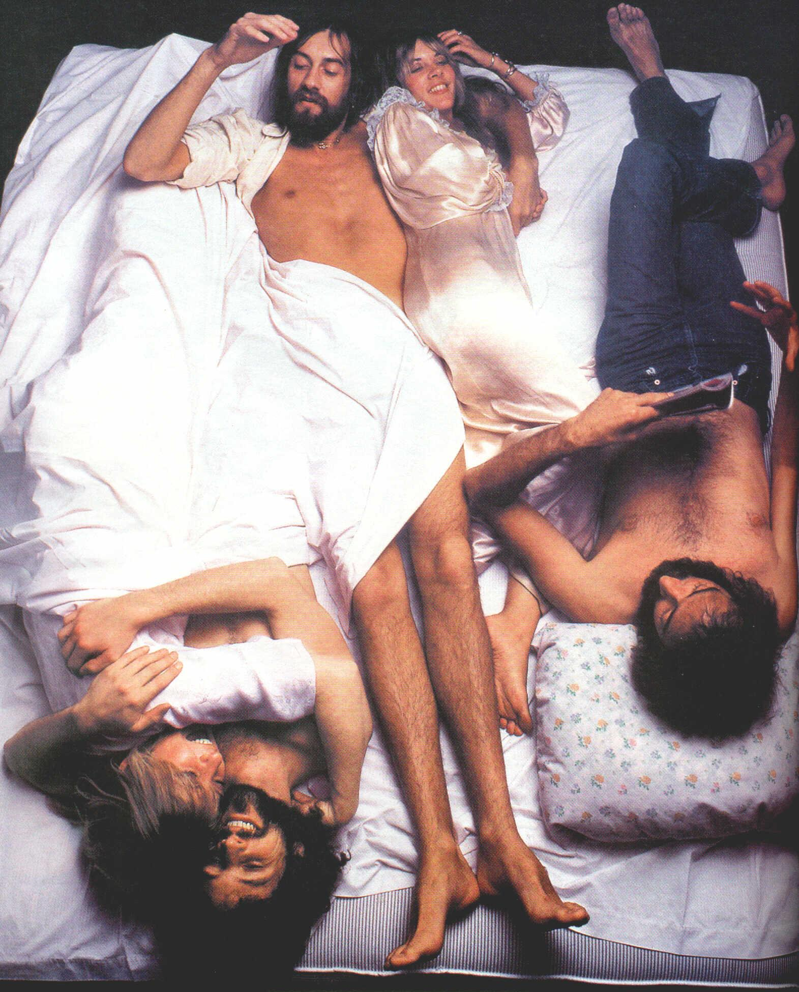Fleetwood Mac Rolling Stone Cover Bed
