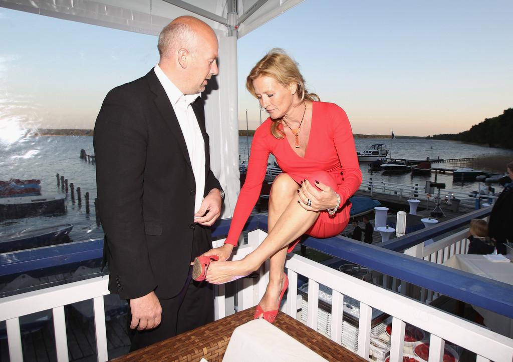 Suzanne von Borsodys Feet