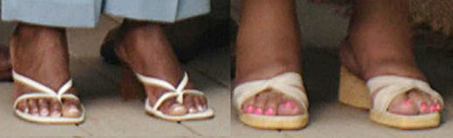 Tamela J. Mann Feet