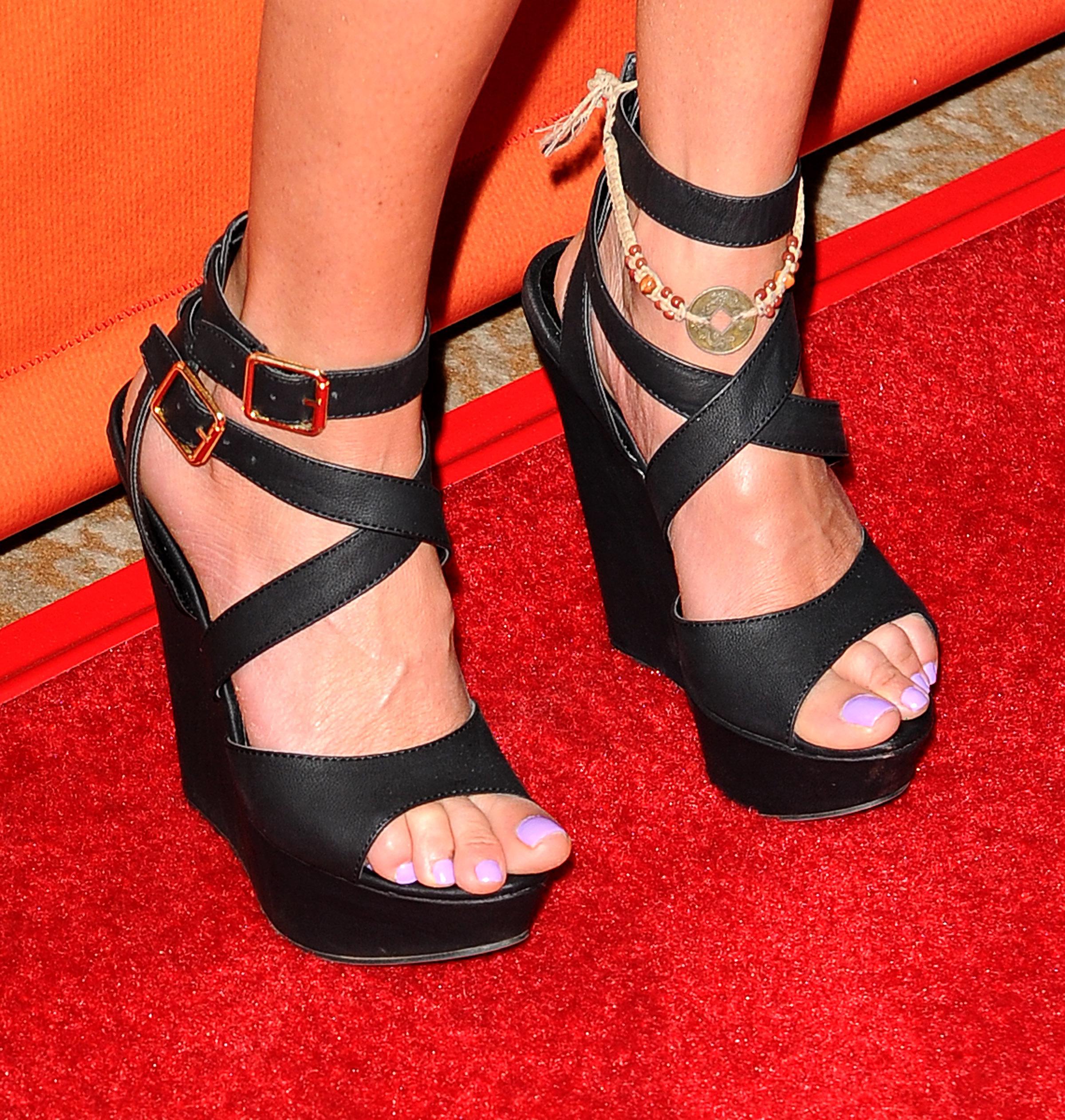 Tara Reids Feet