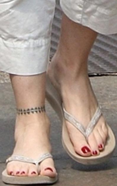 Tatum O'Neal's Feet