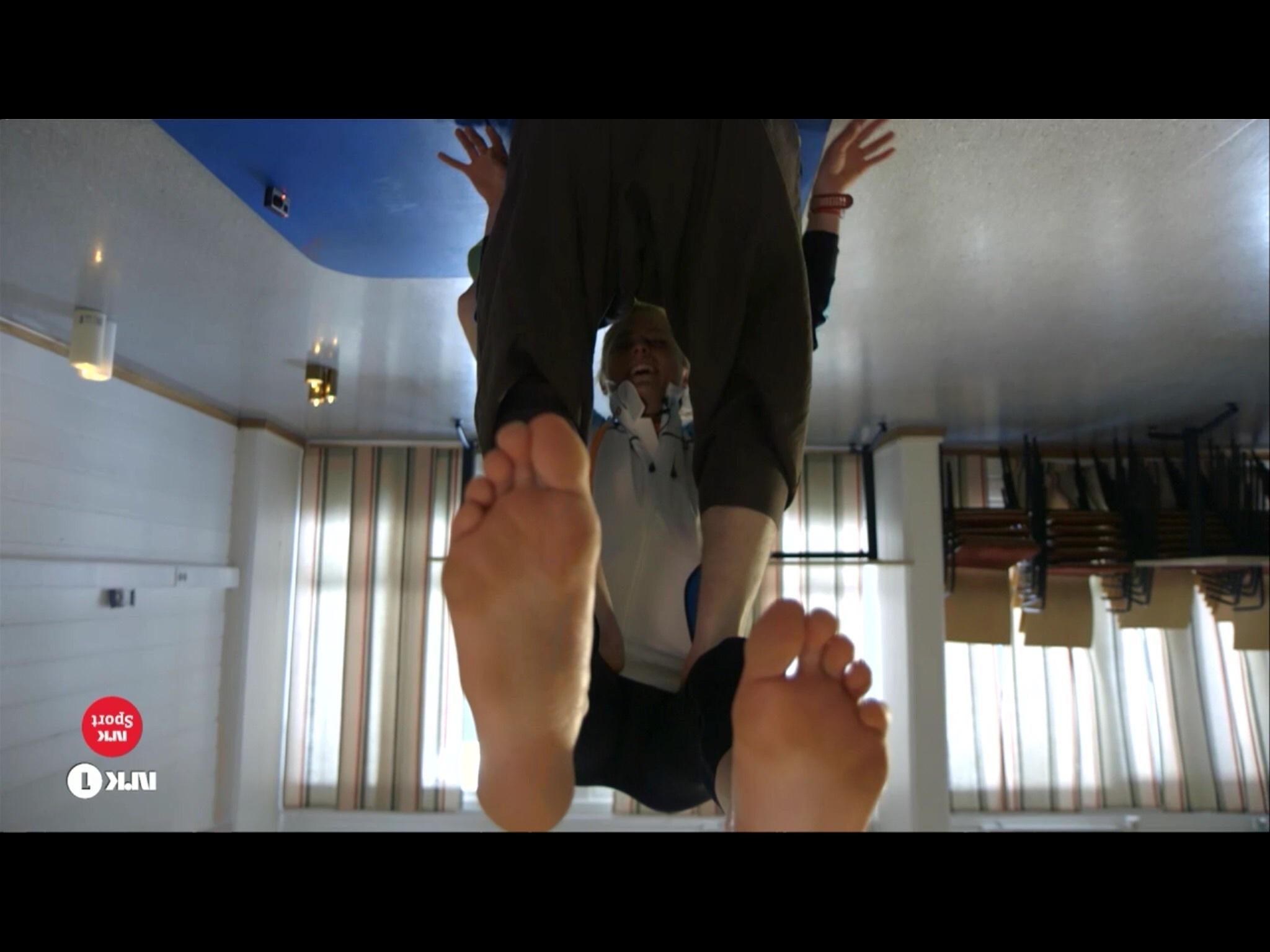 Therese johaug feet