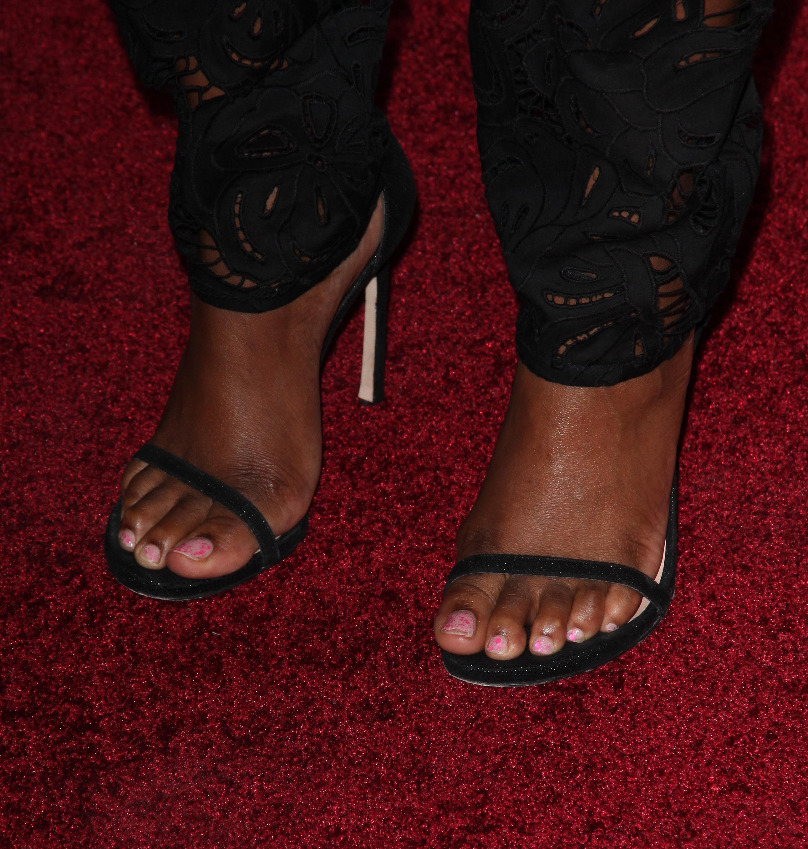 Tika Sumpters Feet