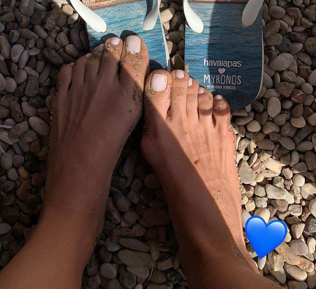 Tonia Sotiropoulous Feet