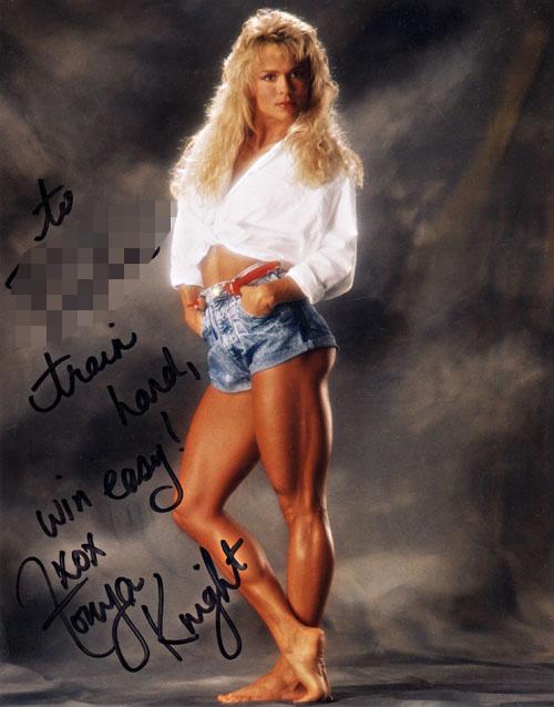 Tonya Knight Shoe Size