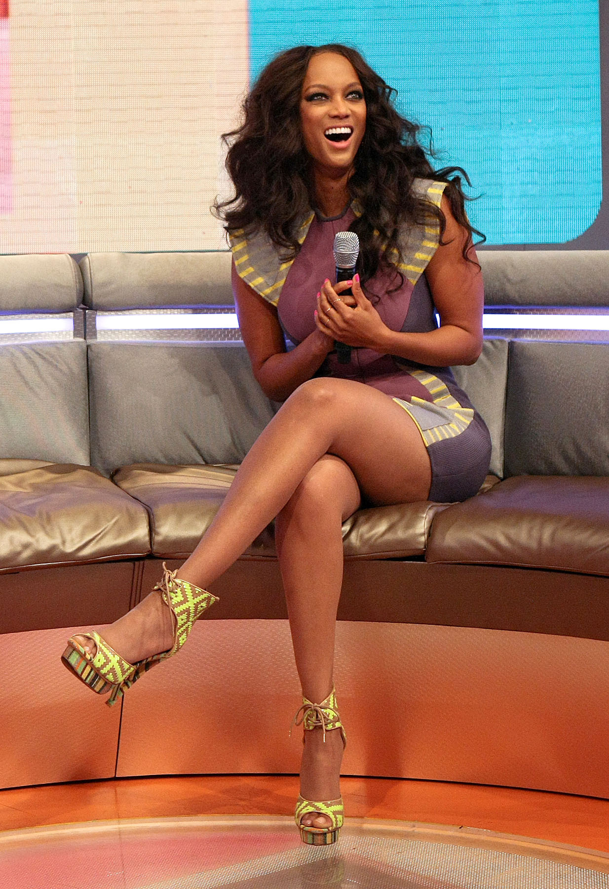 Excited too tyra banks sexy legs