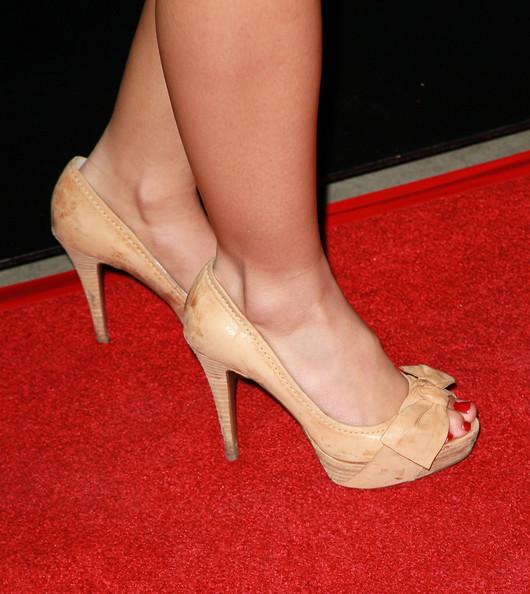 Vanessa Morgan S Feet