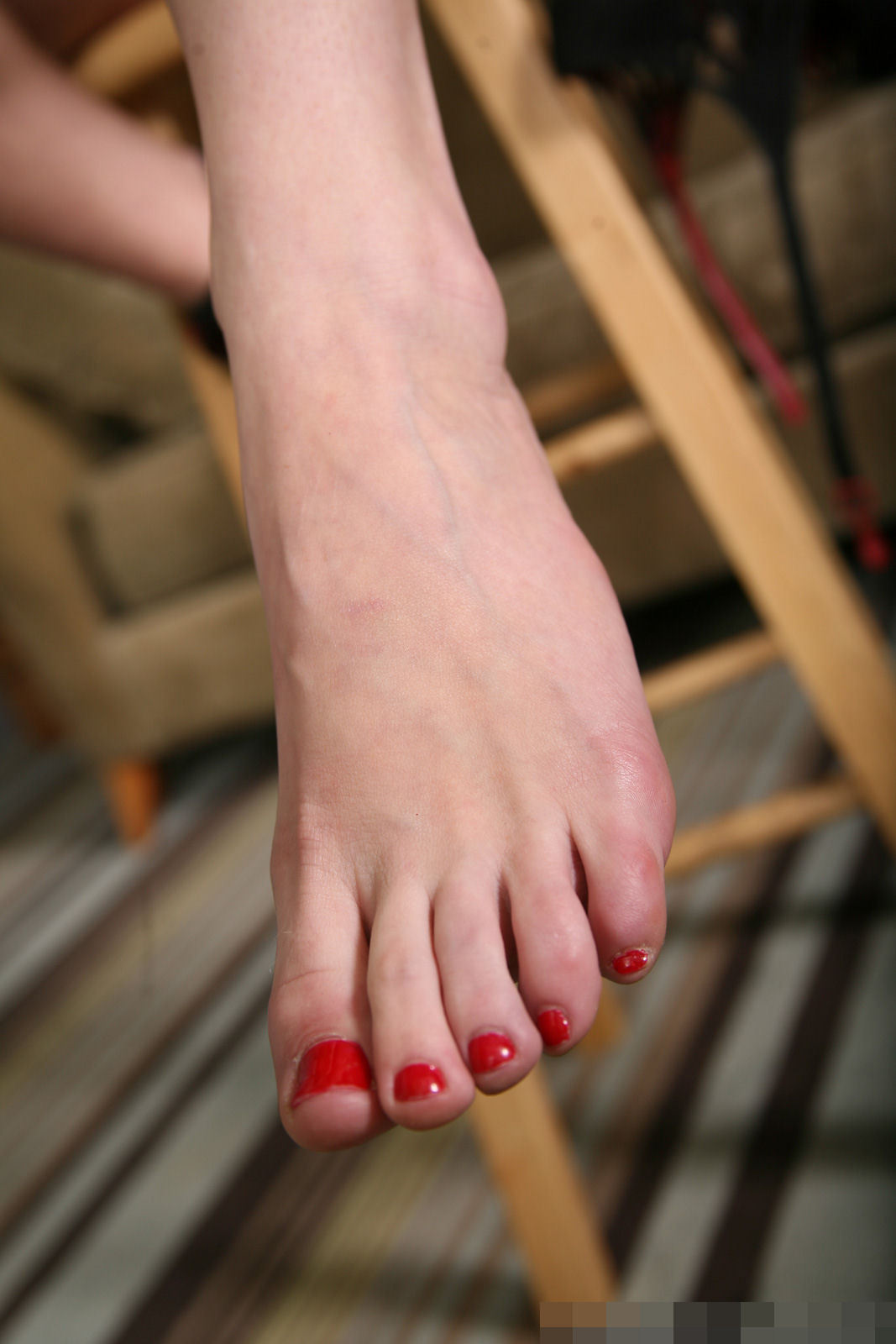 veruca james feet