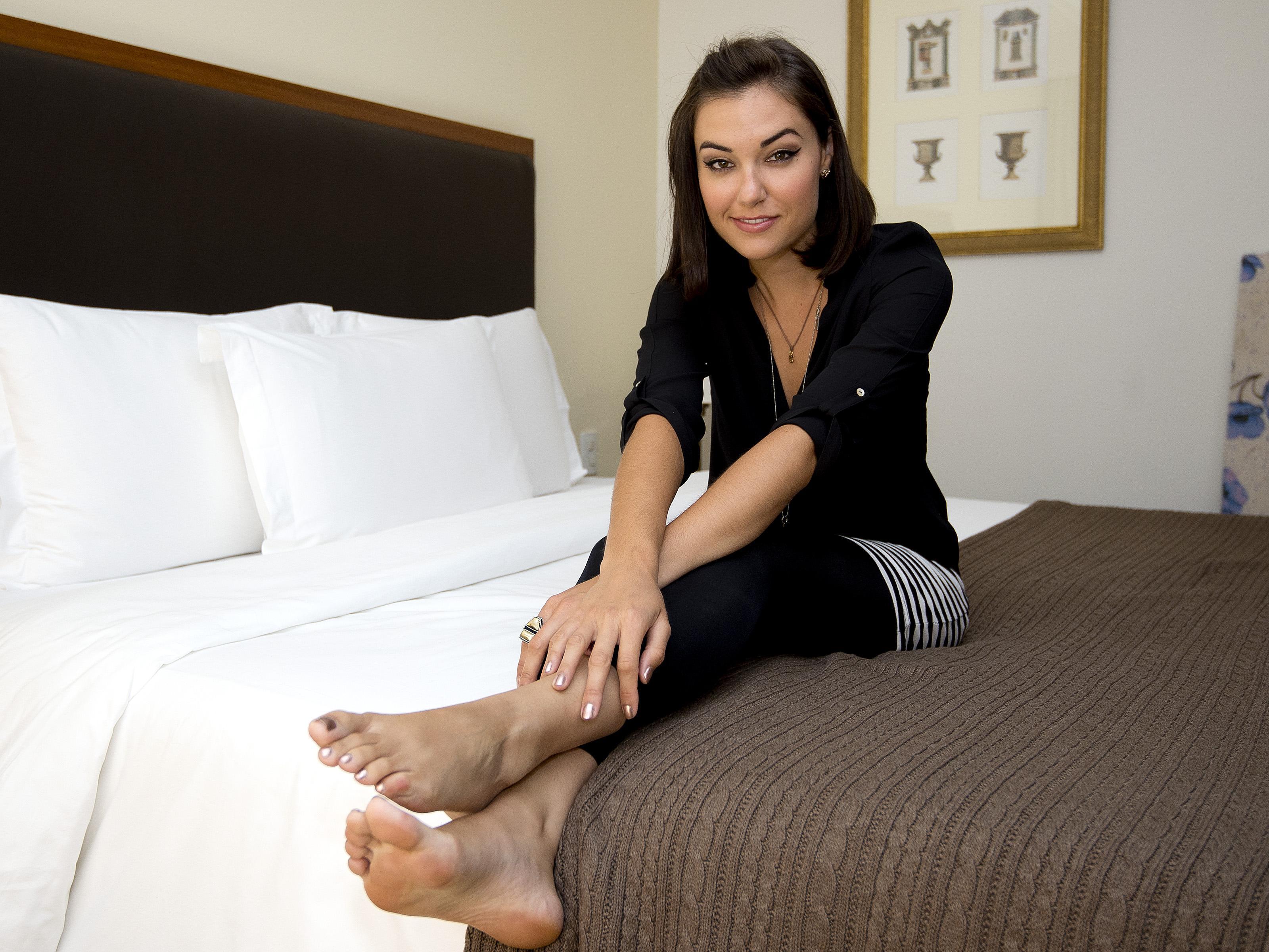 sasha grey toes